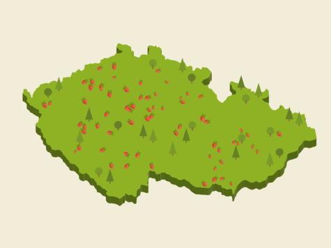Jahodová mapa